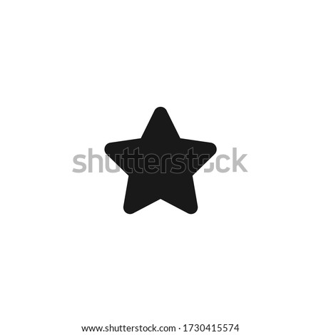 star icon Illustration Art Stock photo © kiddaikiddee