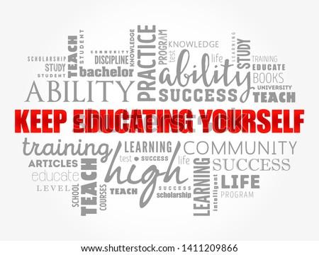 Education word Stock photo © fuzzbones0
