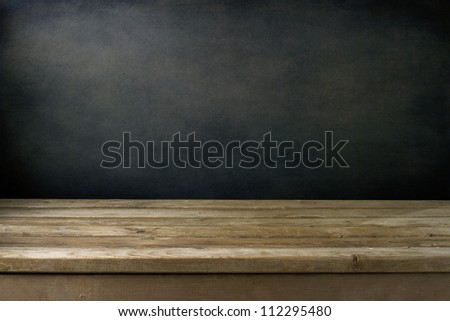 Idea on wooden table Stock photo © fuzzbones0