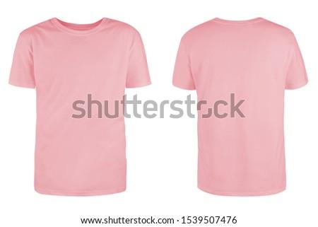Rózsaszín csinos román barna hajú póló farmer Stock fotó © disorderly