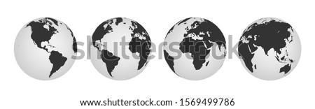 Aarde wereldbol symbool gedetailleerd arabisch Stockfoto © pakete