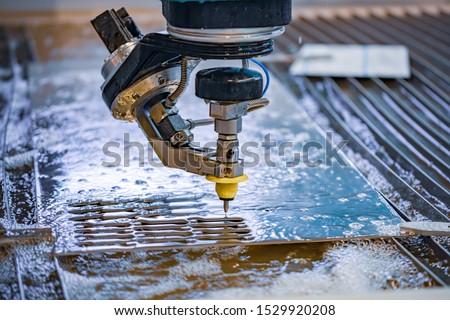 laser · automatico · macchina · taglio · foglio - foto d'archivio © cookelma