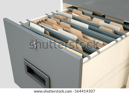 File folders with a tab labeled Taxes Stock photo © Zerbor