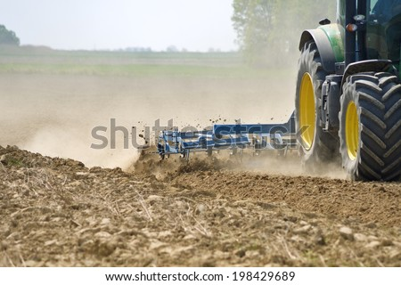 plowed field detail Stock photo © prill