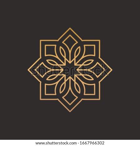 Süs Arapça stil dizayn çerçeve model Stok fotoğraf © premiere