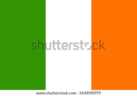 bandera · Irlanda · irlandés · cielo · azul · nubes · sol - foto stock © gravityimaging