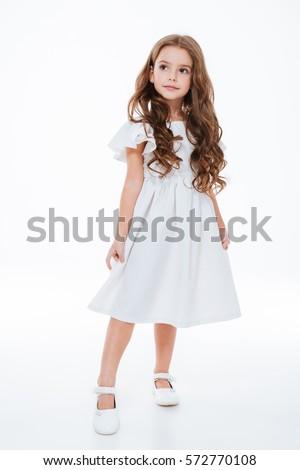 красивой белое платье ювелирные стороны девушки Сток-фото © ruslanshramko