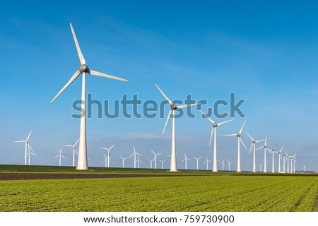 windmills Stock photo © zittto