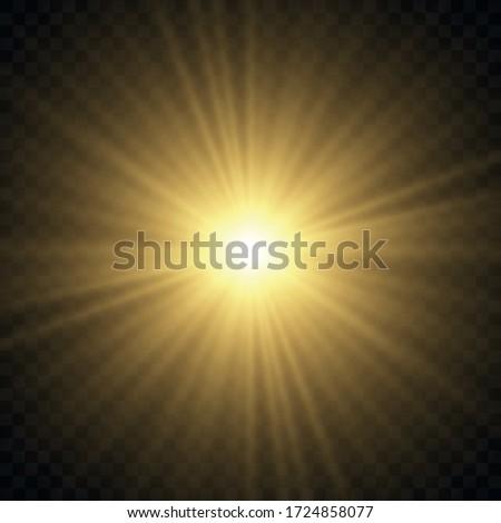 shining yellow lights Stock photo © marinini
