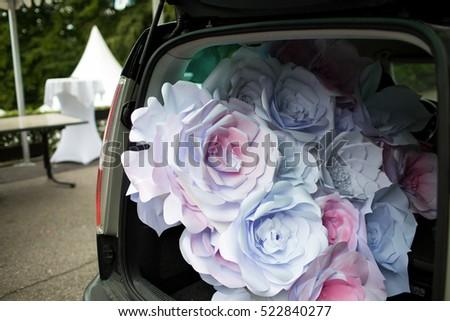 невеста · автомобиль · автомобилей · свадьба · лице · моде - Сток-фото © ruslanshramko
