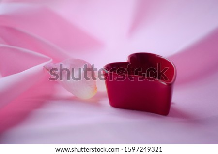 Red Farbric Stock photo © hlehnerer