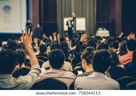 People participating in a seminar Stock photo © photography33