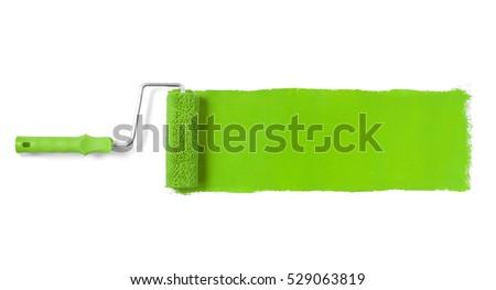 yeşil · boya · renkli · 3D · render · çalışmak - stok fotoğraf © limbi007
