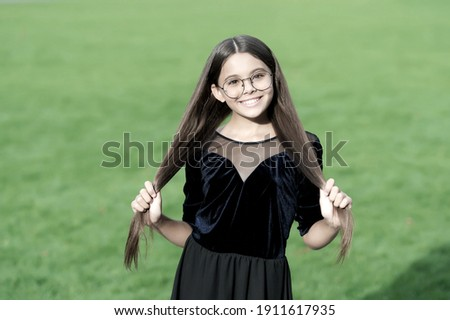 Look at my hair! Long, healthy and silky! Stock photo © photosebia