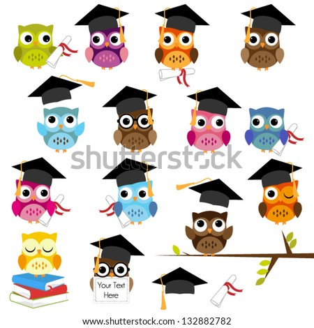 owl graduate Stock photo © adrenalina