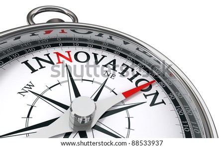 Compass Innovation Сток-фото © donskarpo