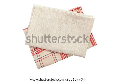 Rood witte schotel handdoek thee Stockfoto © Digifoodstock