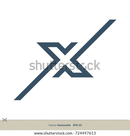 Stock photo: Letter X