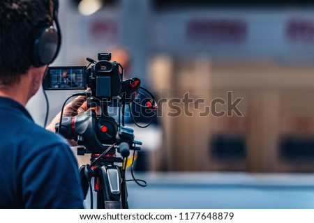 Video Camera Recording Stock photo © AndreyPopov