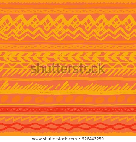 México vetor padrão mexicano colorido arte Foto stock © RedKoala