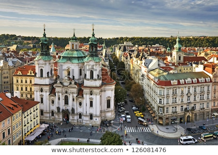 базилика · Прага · здание · церкви · замок · Церкви · путешествия - Сток-фото © borisb17
