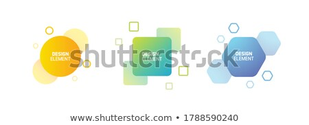 Label Tag In Different Forms Set Color Vector Stock photo © pikepicture