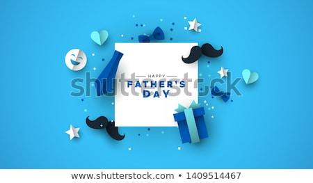 день бумаги Cut иконки шаблон красочный Сток-фото © cienpies