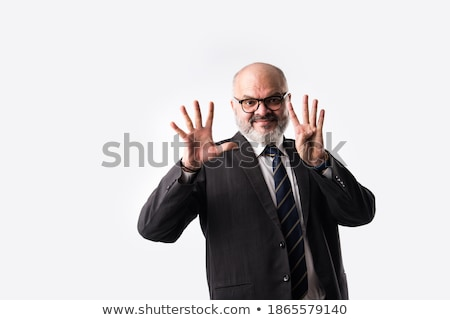 Man Using Sign Language To Communicate Against Stock photo © AndreyPopov