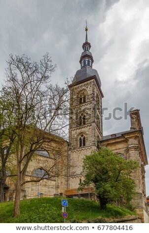 Igreja Alemanha importante protestante nuvem Foto stock © borisb17