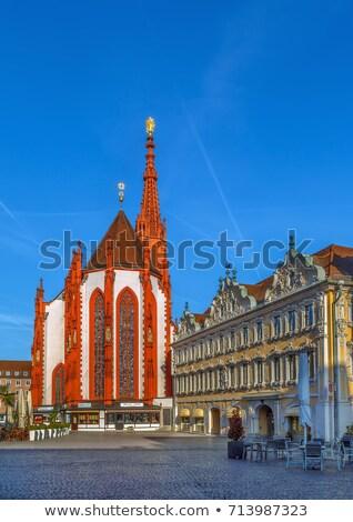 квадратный Германия мнение дома сокол здании Сток-фото © borisb17