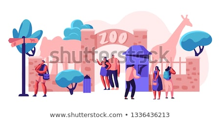 Amusement park territory Stock photo © jossdiim