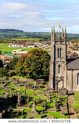 Saint église Irlande romaine catholique ville Photo stock © borisb17