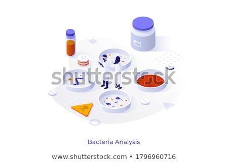 Wetenschappelijk moderne isometrische vector web banner Stockfoto © Decorwithme