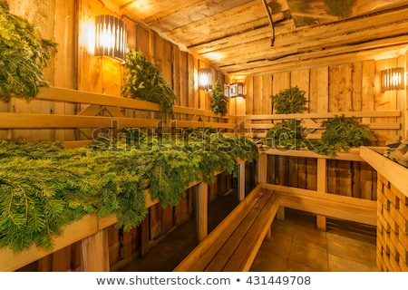 Russian sauna banya Stock photo © olira