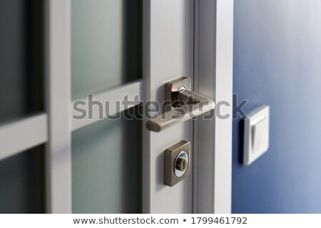 Interior door with a nearby lightswitch Stock photo © rcarner
