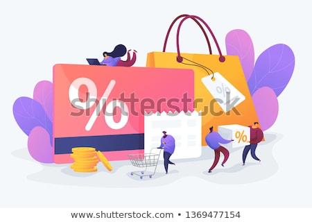 Lojalność program wektora metafora strategia marketingowa cartoon Zdjęcia stock © RAStudio