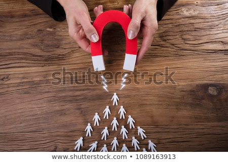Business Lead And Customer Generation Magnet Stock photo © AndreyPopov
