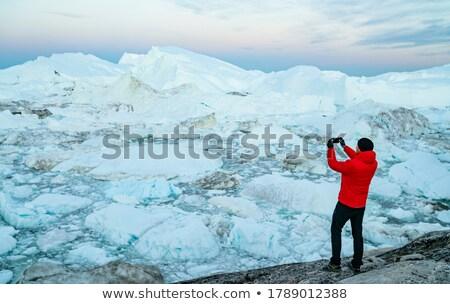 путешествия Арктика пейзаж природы туристических исследователь Сток-фото © Maridav