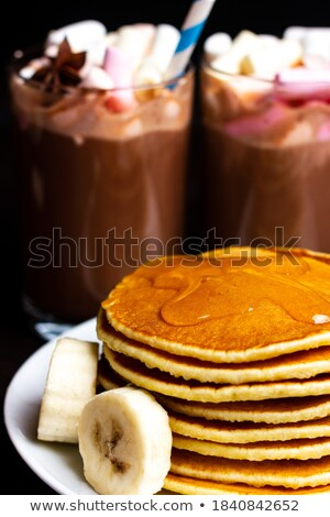 Chocolate and Flapjack Chunks Stock photo © marilyna