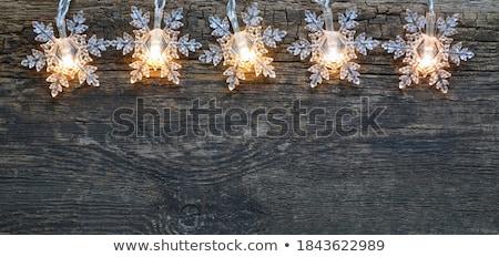 wesoły · christmas · festiwalu · powitanie · srebrny · piłka - zdjęcia stock © orson