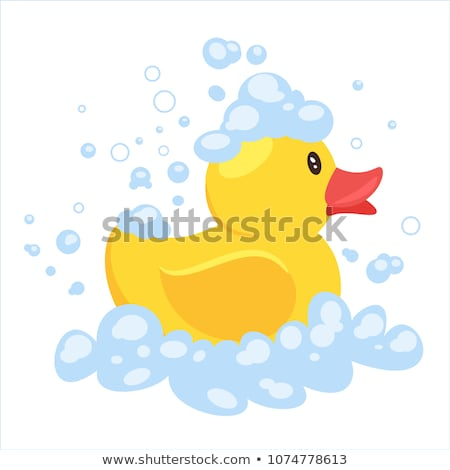 Rubber duck with bath background  stock photo © adrian_n