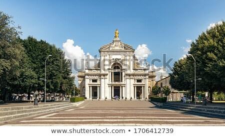 Basilica of Santa Maria degli Angeli near Assisi Stock photo © aladin66