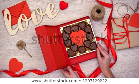 Female Love Chocolate - an aphrodisiac Stock photo © lovleah