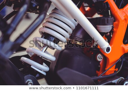 オートバイ アジャスタブル リア ショック 現代 ストックフォト © gant