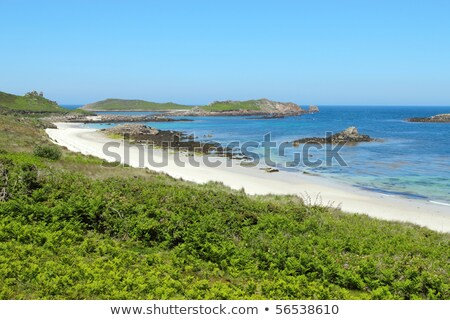 Great bay and little bay beaches, St. Martin's Isles of Scilly. Stock photo © latent