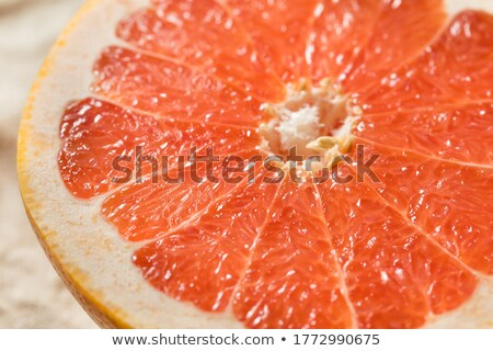 Robijn grapefruit half gesneden voedsel Stockfoto © aladin66