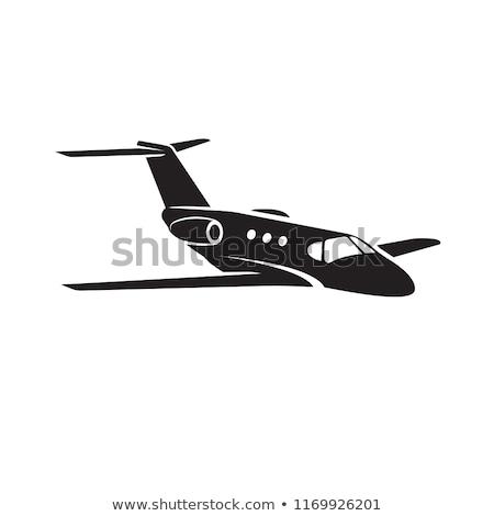 малый бизнес Jet самолет аэропорту бизнеса скорости Сток-фото © Supertrooper