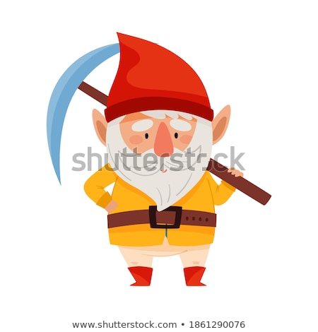 Cheerful man with a pickaxe Stock photo © photography33