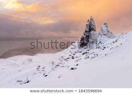 Surreal paisagem panorâmico cenário escócia viajar Foto stock © prill