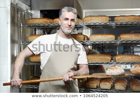baker with loaves of bread stock photo © photography33
